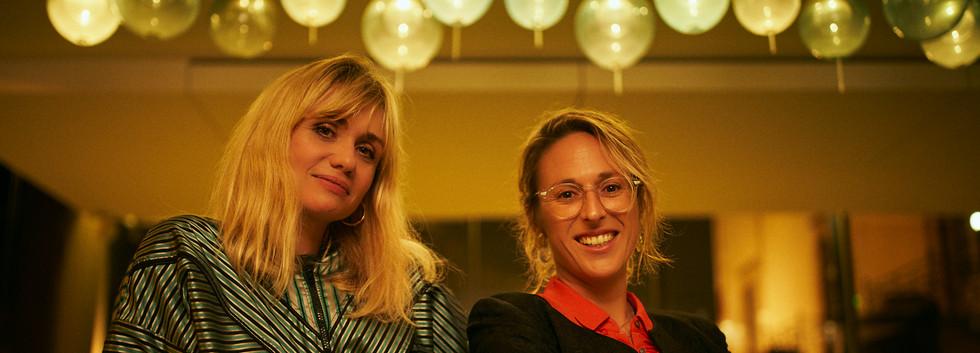 Katell Quillévéré & Charlène Favier