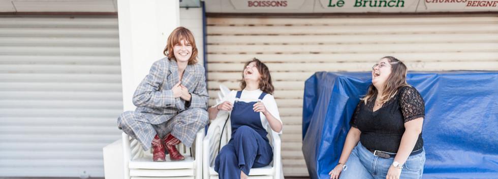 100 KILOS D'ÉTOILES - Angèle Metzger, Zoé De Tarlé & Laure Duchêne ©ManuelMoutier