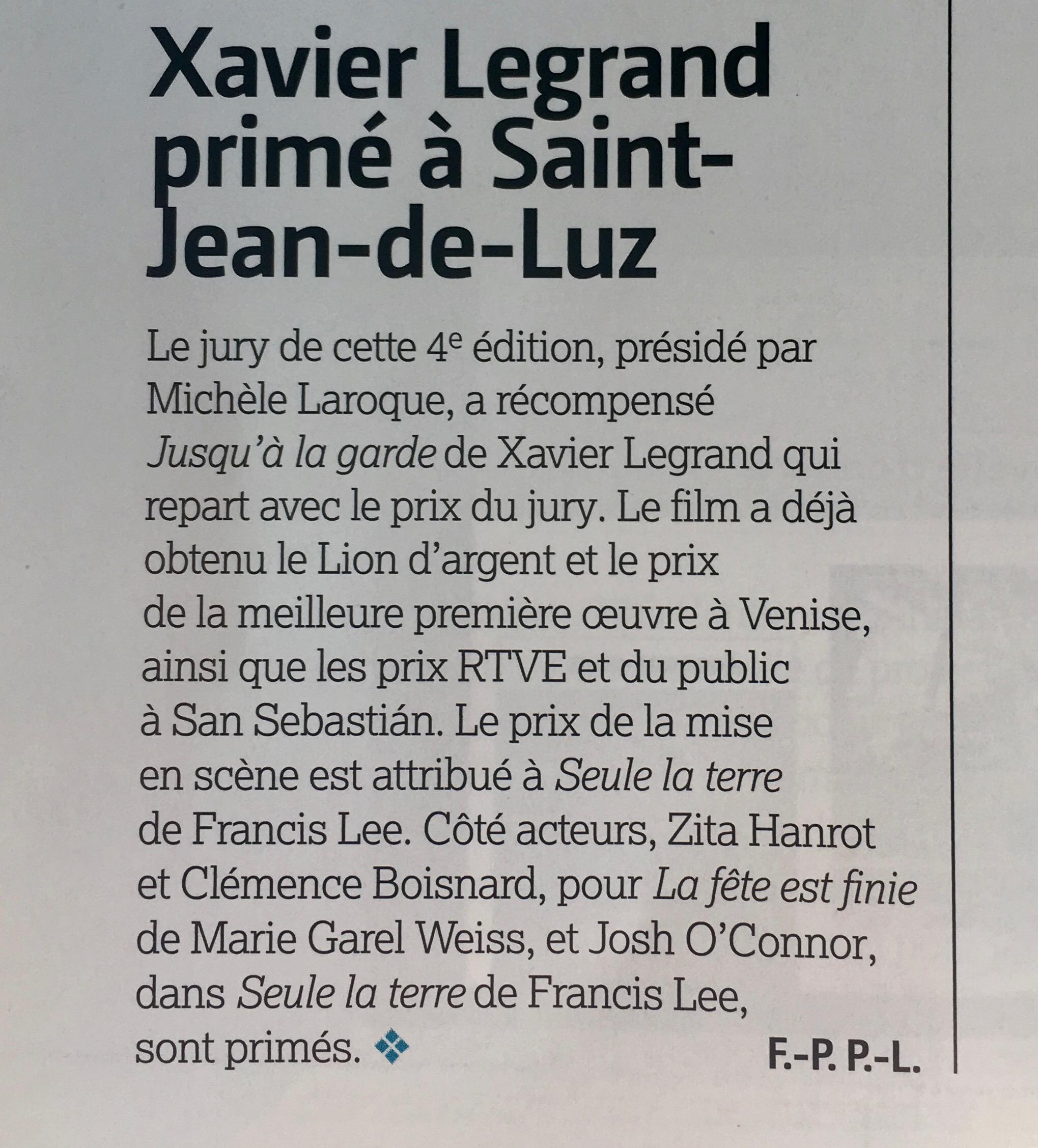 Le Film Français - 13 octobre 2017