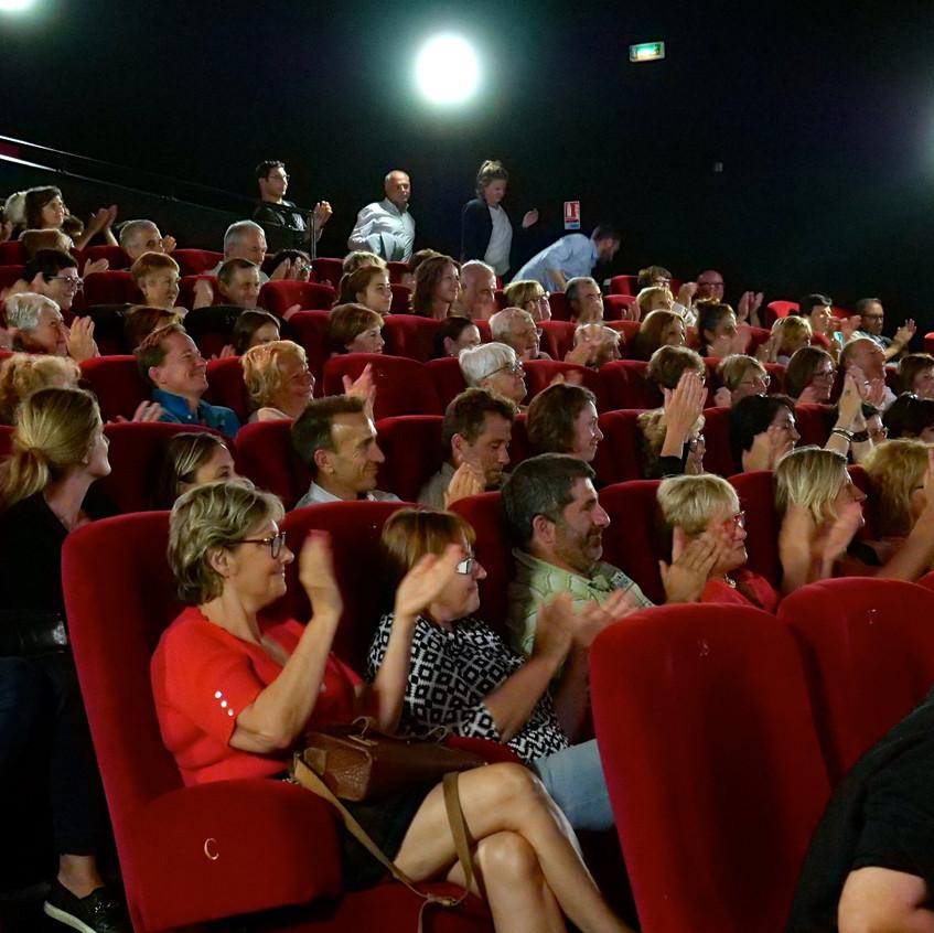 Le public en joie