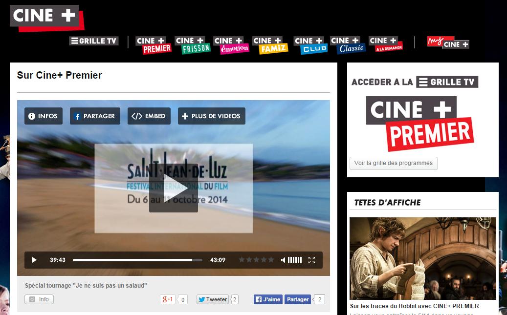 Sur Ciné+