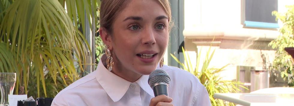 """Interview d'Alice ISAAZ, actrice pour le film """"L'État Sauvage"""""""