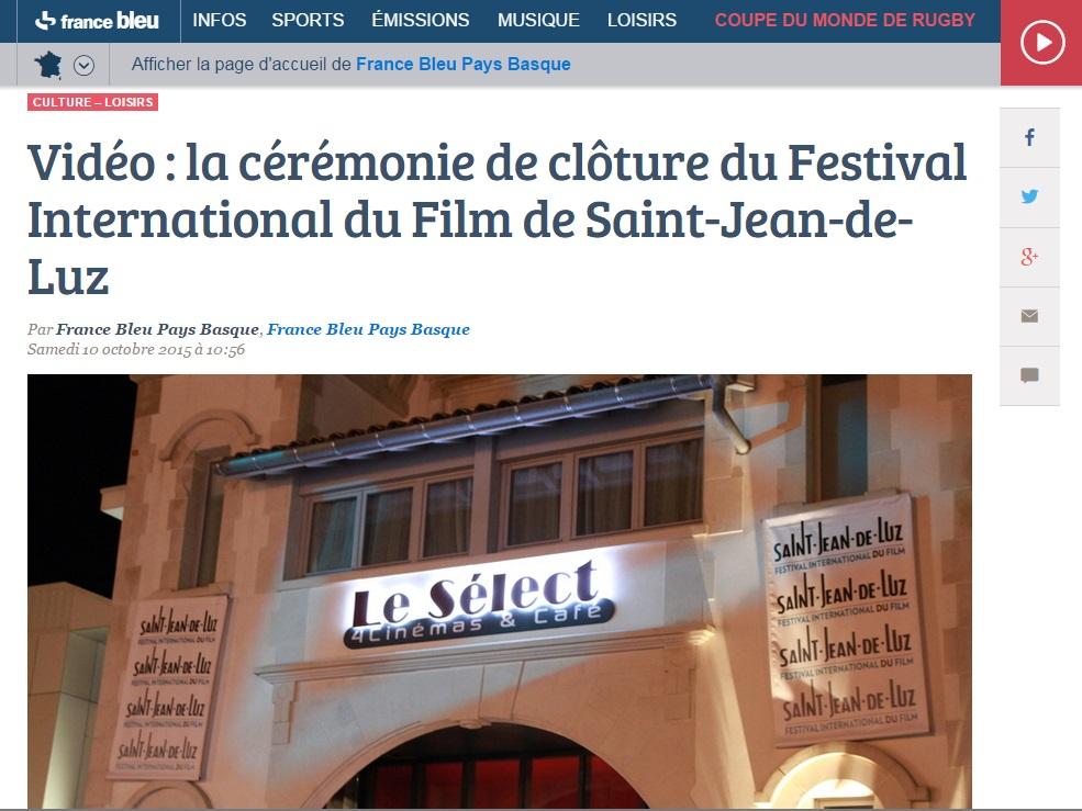 France Bleu du 10 Octobre