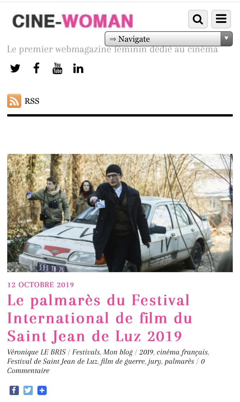 12-10-2019 Cinewoman.fr