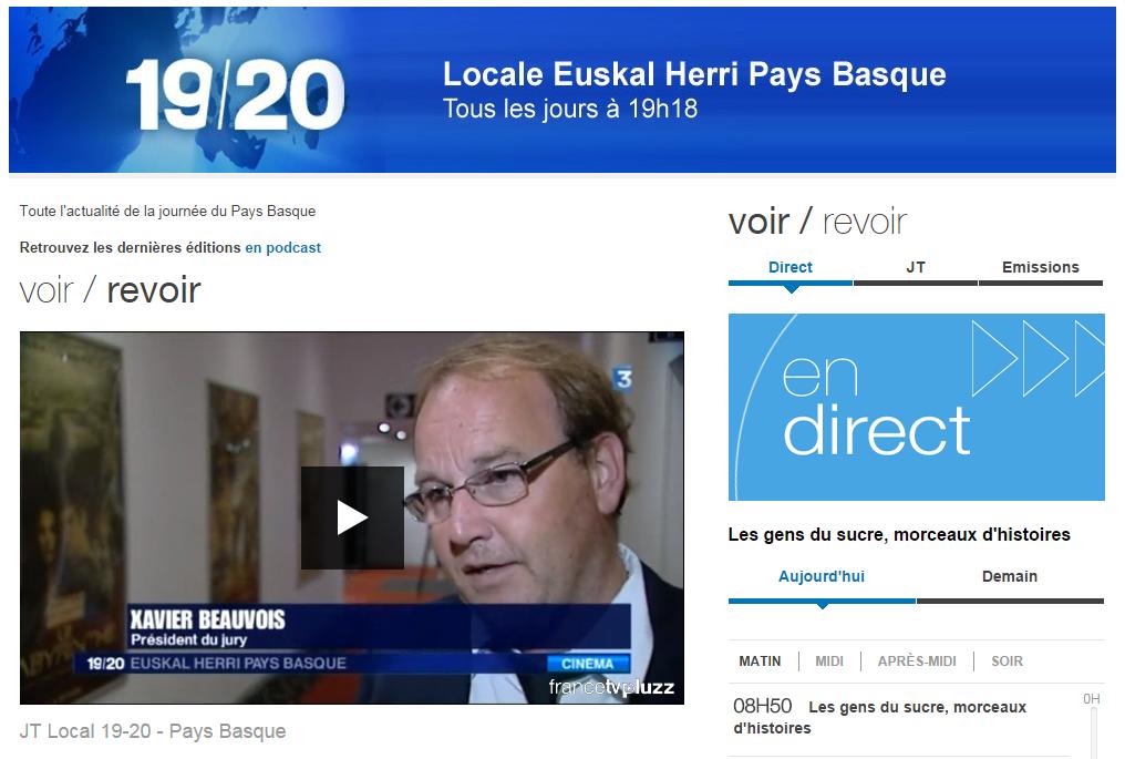 Dans France 3 Locale - 13/10/14