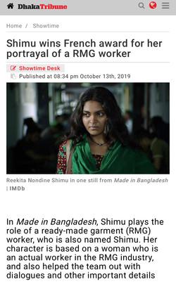 13-10-2019 Dhaka Tribune