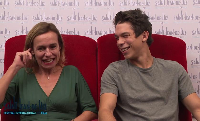 L'Enkas - Interview de Sandrine Bonnaire et Sandor Funtek
