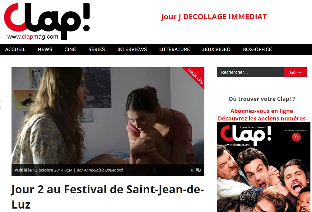 Clap Mag - Jour 2