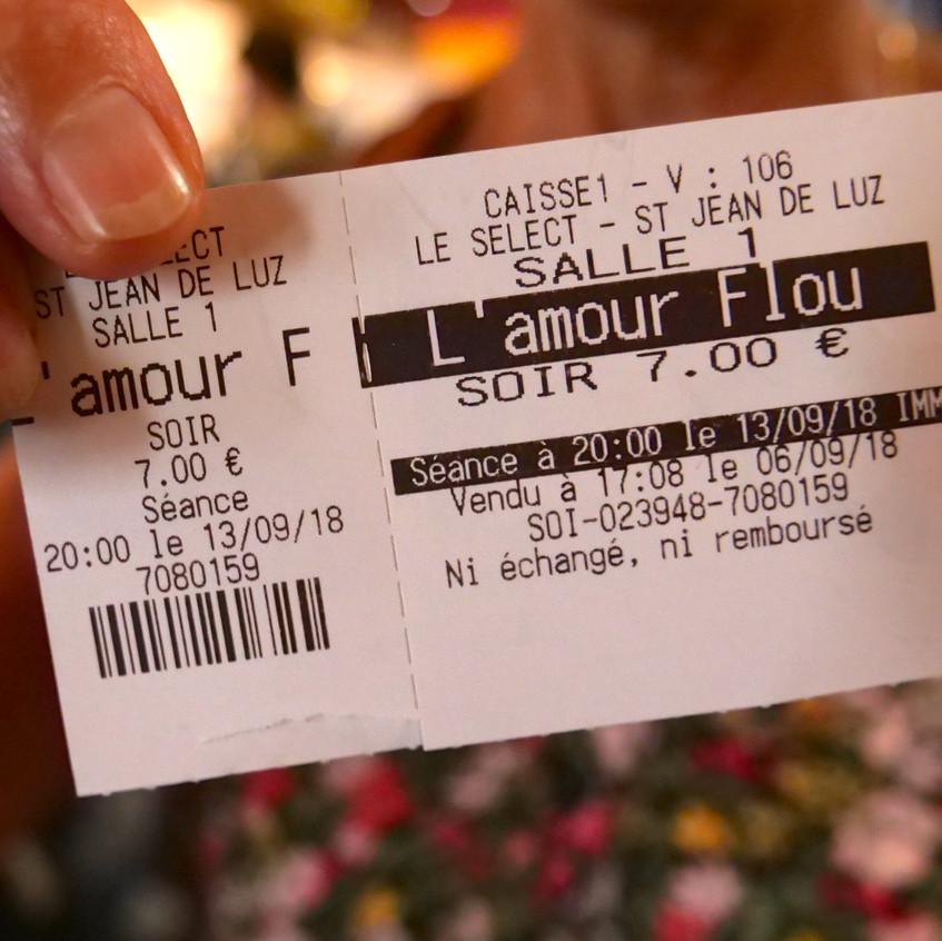 Projection L'amour flou
