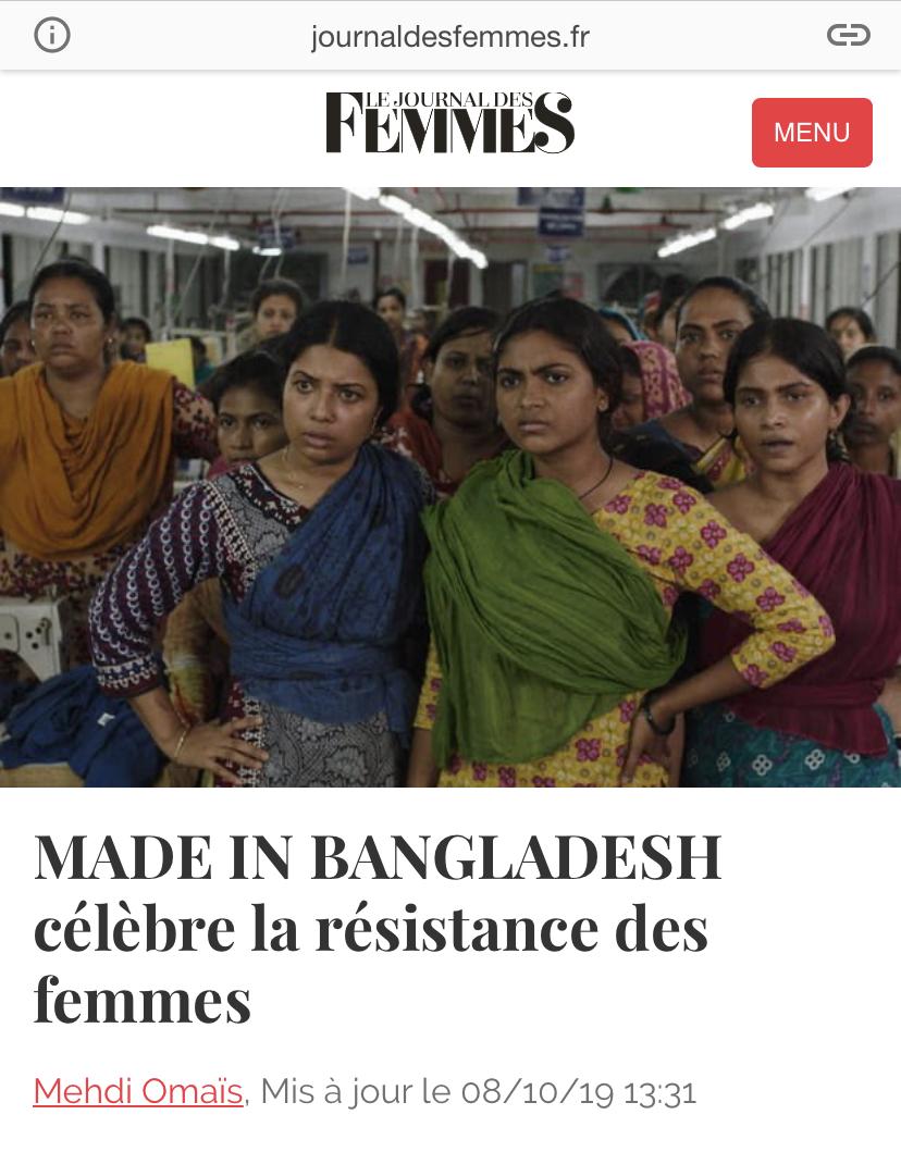 08-10-2019 Le journal des femmes