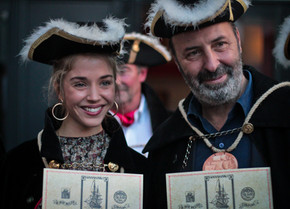 Alice Isaaz et Cédric Klapisch intronisés