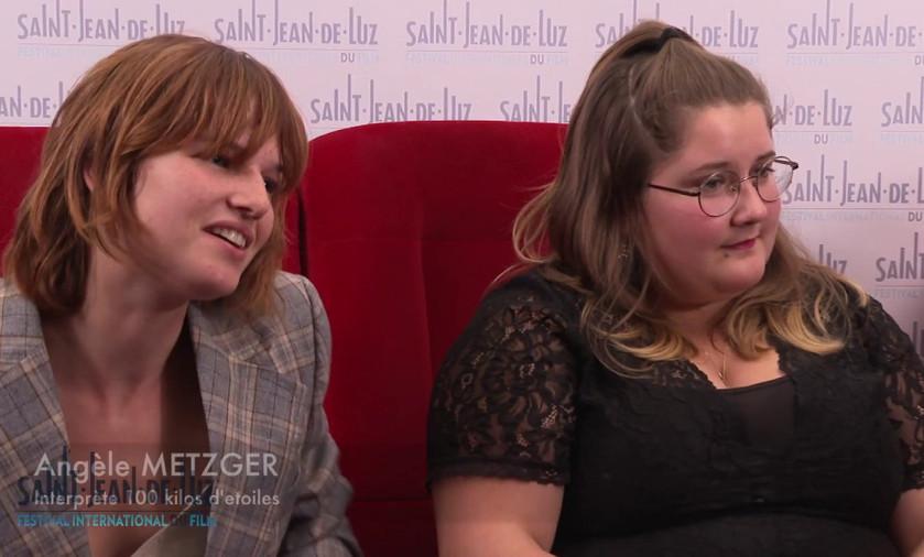 100 kilos d'étoiles - Interview des comédiennes Laure Duchêne, Angèle Metzger & Zoé De Tarlé