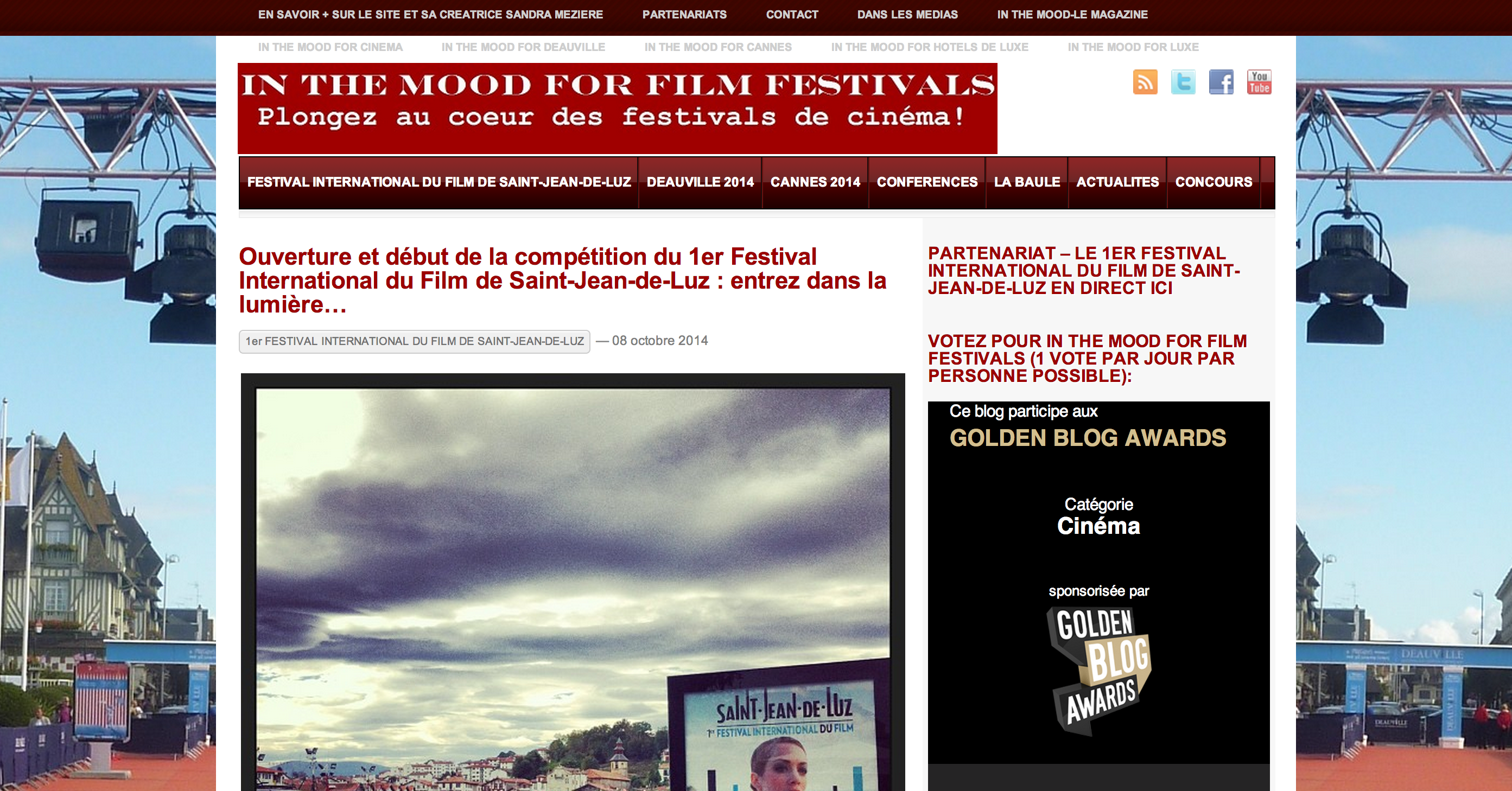 In the mood for film festivals