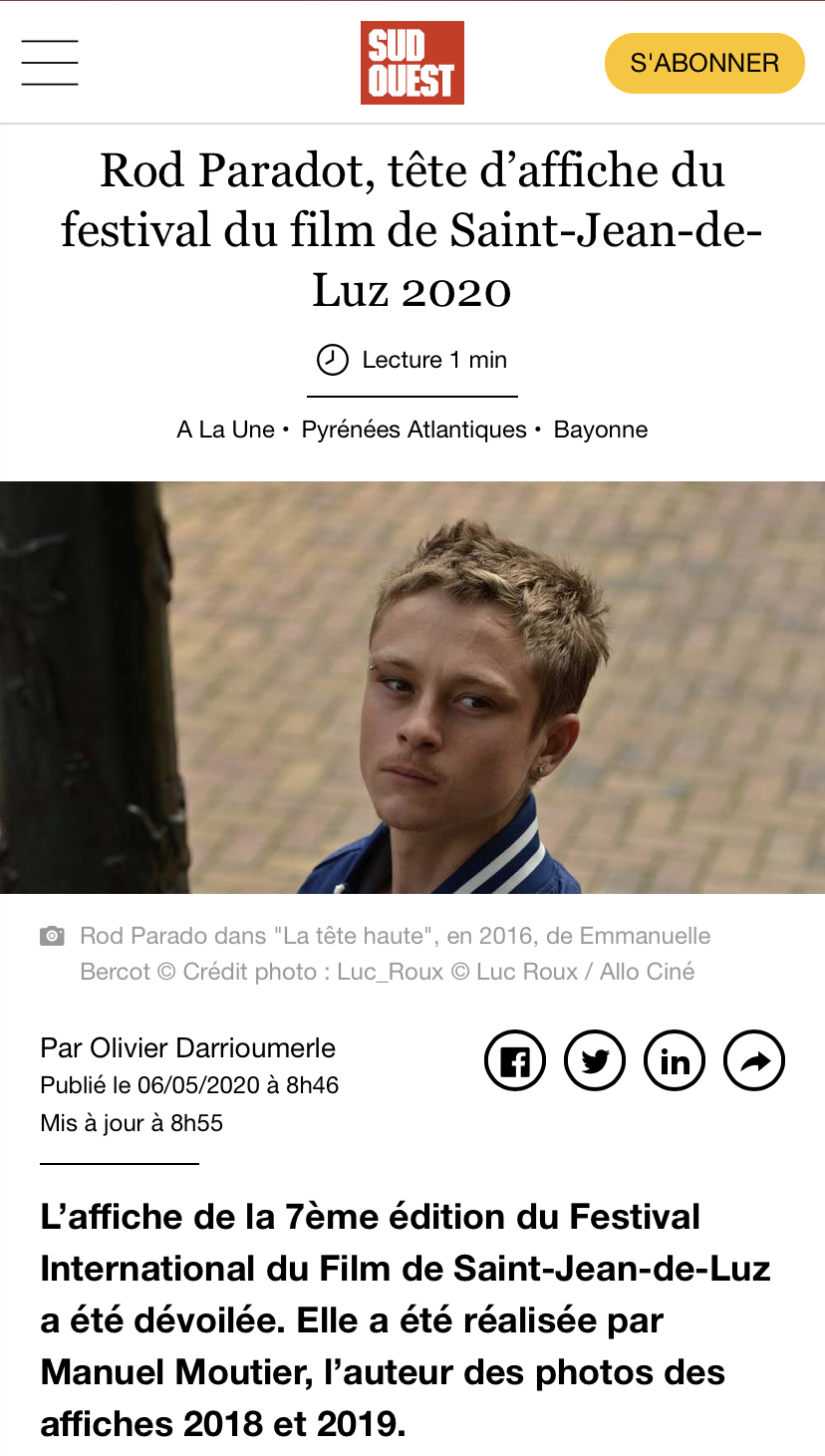 Sud Ouest 06-05-20