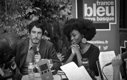 Vincent Elbaz et Aissa Maiga