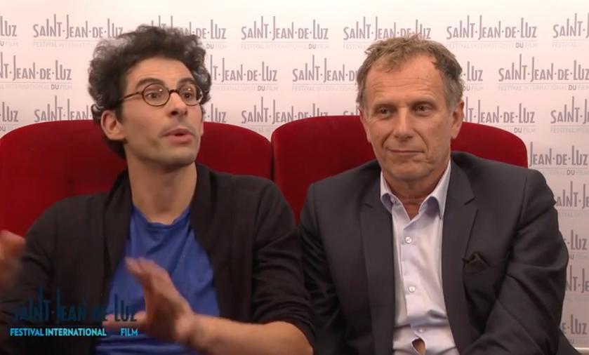 Un beau voyou - Interview de Lucas Bernard et Charles Berling