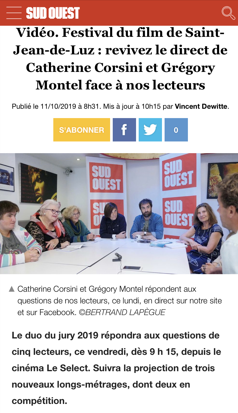 11-10-2019 SUD OUEST