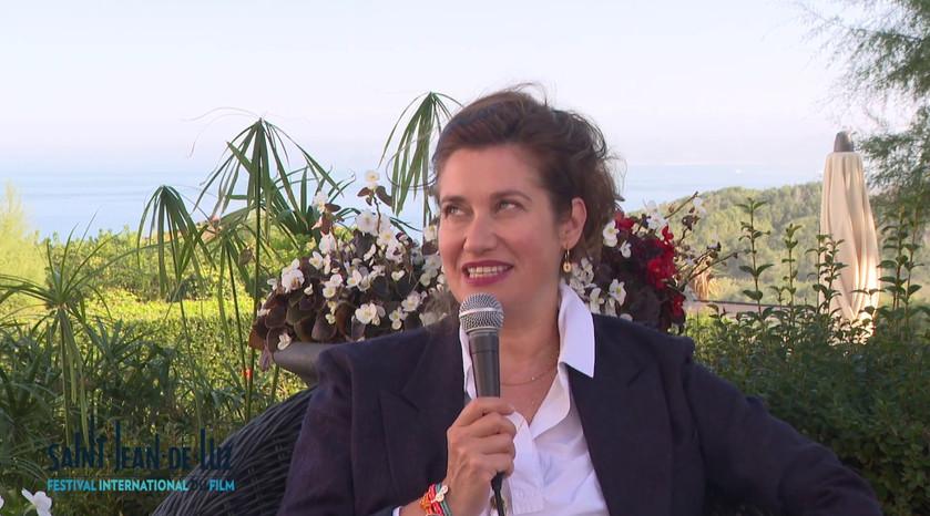 """Interview d'Emmanuelle DEVOS, actrice pour le film """"Les Parfums"""""""
