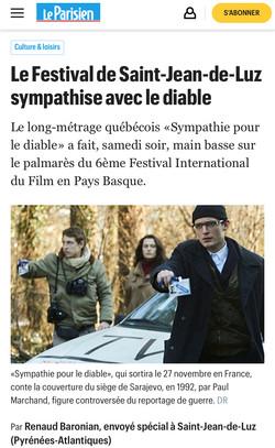 13-10-2019 LE PARISIEN