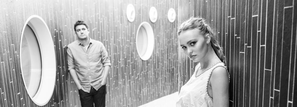 LES FAUVES - Lily-Rose Depp & Vincent Mariette ©ManuelMoutier