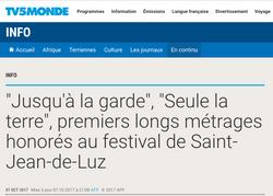 TV5 Monde - 7 octobre 2017