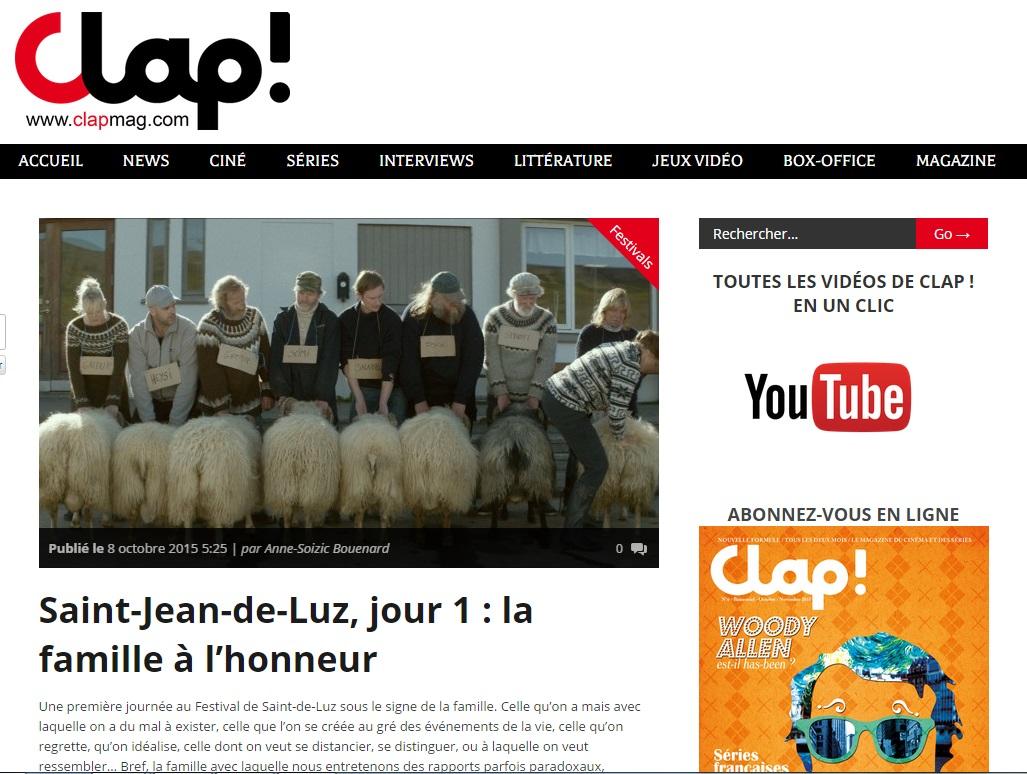 Clapmag Jour 1