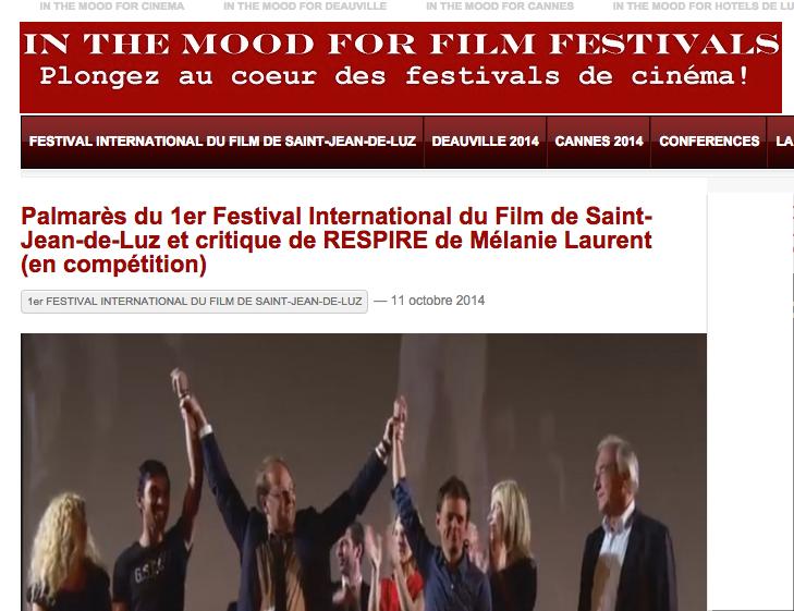 Palmarès Inthemoodforfestivals.com