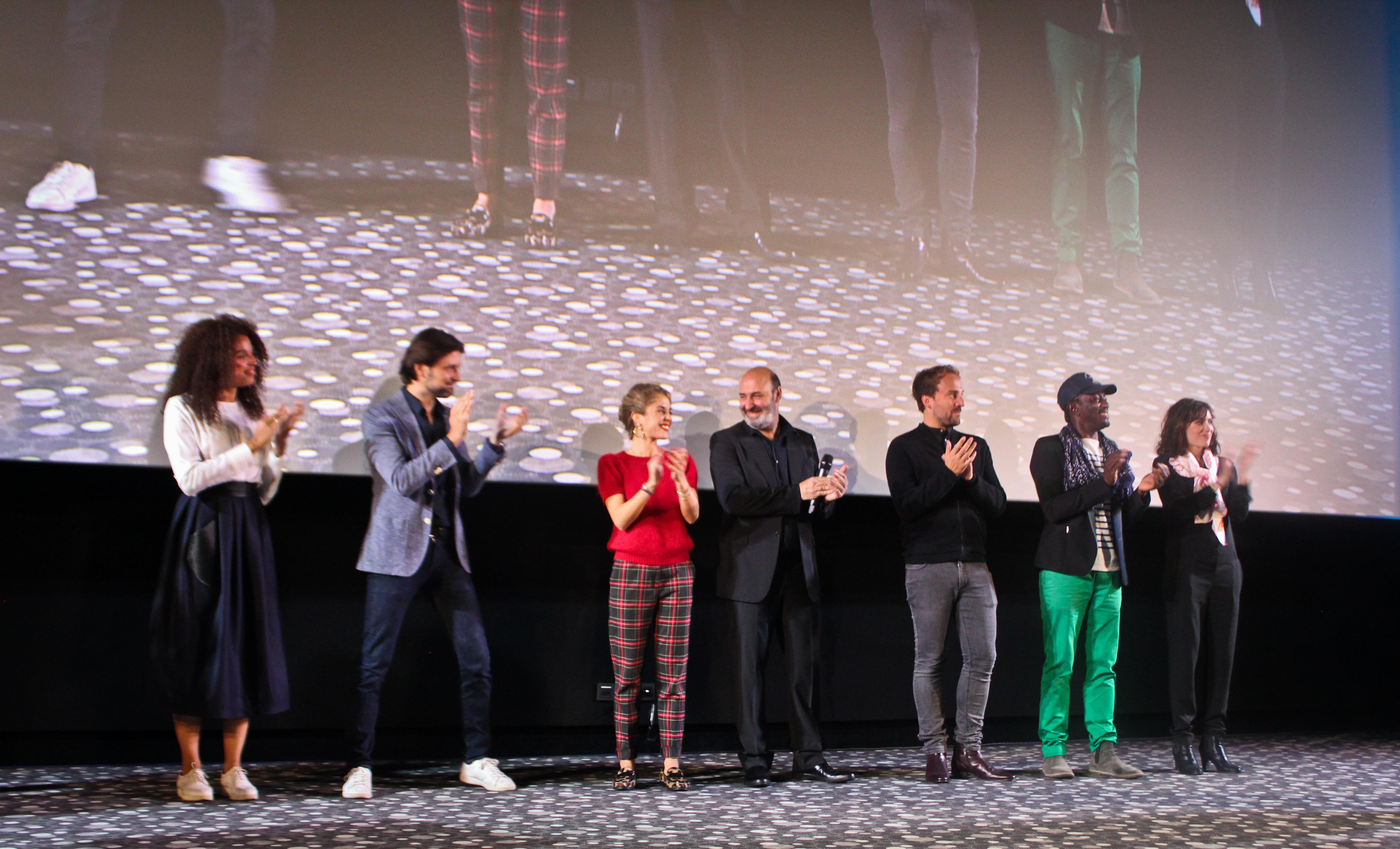 Jury 2016 pendant la Cérémonie
