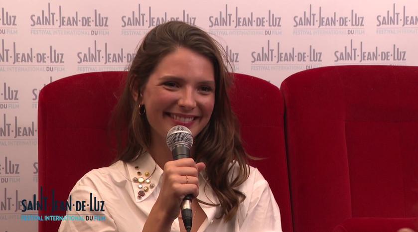 """Interview de l'actrice Joséphine JAPY pour le film """"L'échappée"""""""