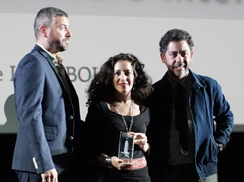 Remise des prix du Festival International du Film avec Manu Payet