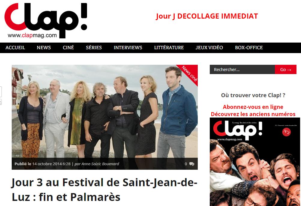 Clap Mag - Palmares