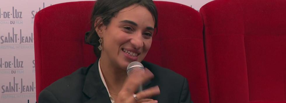 """Interview de Camelia JORDANA, actrice pour le film """"La nuit venue"""""""