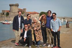 Le Jury au Fort de Socoa