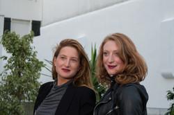Julie Piaton et Sarah Stern