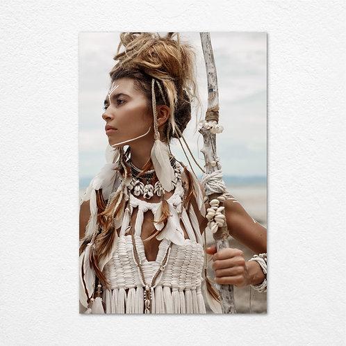 Native Girl Face