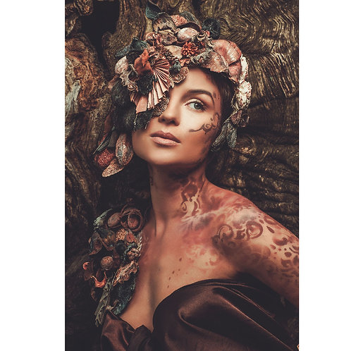 Flowered Woman
