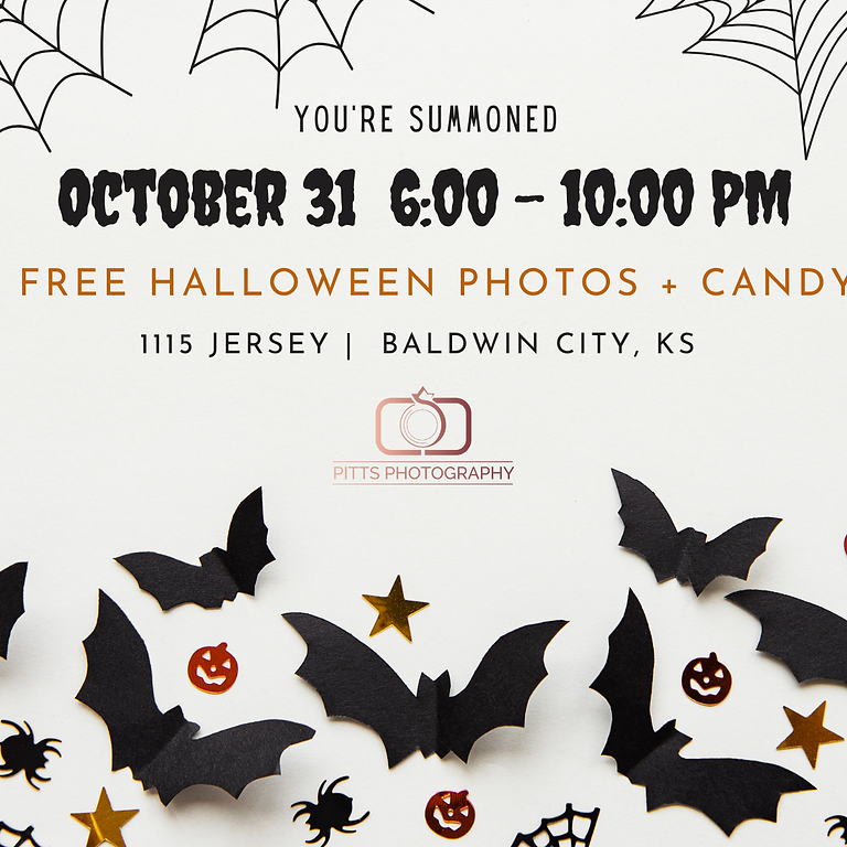 FREE Halloween Photos!
