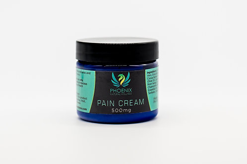 Pain Relief Cream - 500 or 1000 Mgs