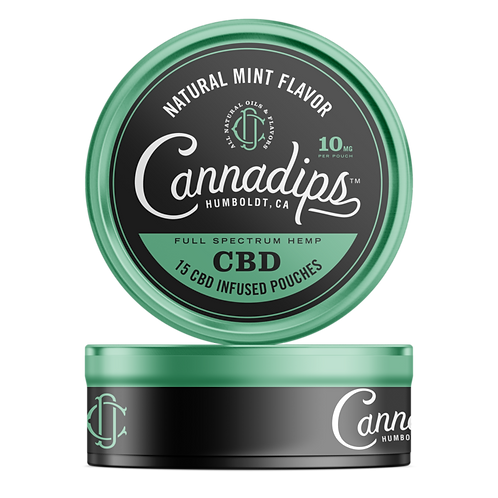 CannaDips (CBD infused pouches)