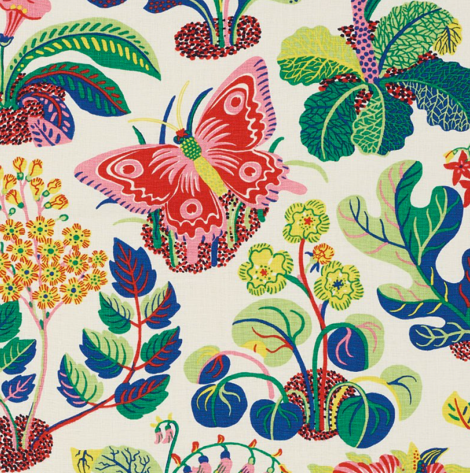 Exotic Butterfly Fabric / Pattern by Josef Franck / FSchumacher