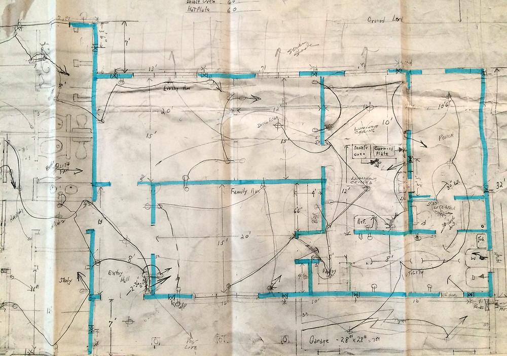 Hobe Sound Florida Ranch Floor Plan Before