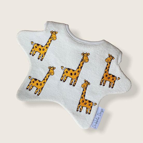 Giraffe Baby Bib Cut Out