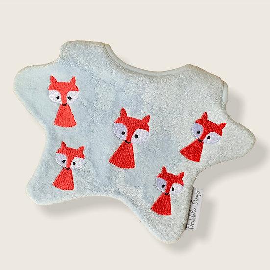 Fox Baby Bib Cut Out