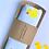 Blue Rubber Duck Baby Bib Gift Packaging