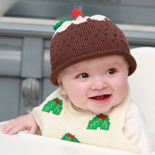 The Knitted Christmas Pudding One