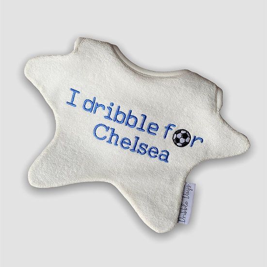 I dribble for Chelsea Baby bib Cut Out