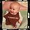 Baby wearing 'Mummy's Boy' baby bib
