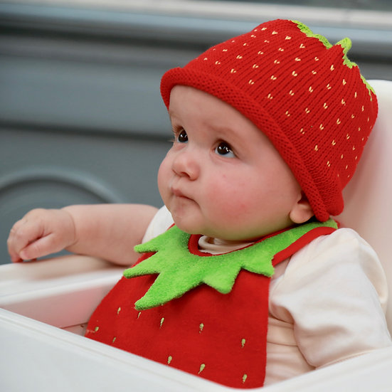 The Knitted Strawberry One