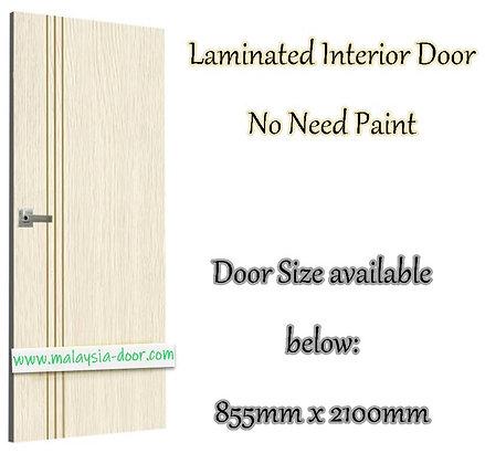 <BARN DOOR> MDLD-81 Laminated Door 81 door malaysia