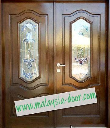 <NYATOH> MDG2L-NYT l Main Door l Pintu Kayu l Pintu Murah l door malaysia